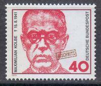 Germany 1973 MNH Mi 771 Sc 1116 Maximilian Kolbe.Saint.Auschwitz camp.WW2 **