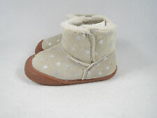 NIB $46 Carters Every Step Stage 1 Crawling Baby Girls Boots Size 3 6-9 Months