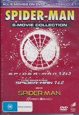 Spider-Man 6-movie Collection DVD NEW Region 4