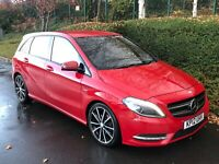 2012 MERCEDES - BENZ B180 BLUEEFFICIENCY SPORT AMG 1.6 PETROL SUPERB EXAMPLE