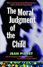 The Moral Judgment of the Child by Jean Plaget (Paperback, 1997)
