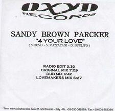 SANDY BROWN PARKER - 4 Su Love - Oxido