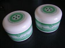 Two(2) New tubs Enzo's Button Hole Chamois Cream Creme 8oz=3oz