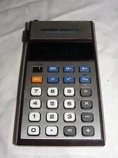 Taschenrechner Calculator Casio Memory B-1 70er Jahre