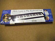 NEW eMedia Learn to Play Electric Keyboard Pack OPEN BOX WORKS W/WIN & MAC