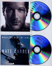 MATT CARDLE Porcelain UK promo test CD + bonus CD Melanie C