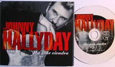 Johnny HALLYDAY Un jour viendra DIGIPACK CD TRANSPARENT 2 Titres