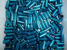 (0,40 € Stück ) 10 Endkappen blau für 5 mm Außenhülle