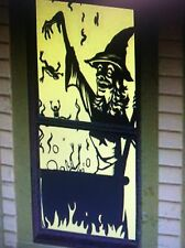 Witch's Brew Halloween Decoration Haunted House Translucent Window Posters