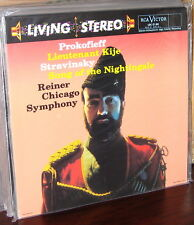 CLASSIC RECORDS LP LSC-2150: PROKOFIEV Kije, STRAVINSKY Nightingale REINER 180gm