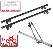Set Roof Rack M03AF/130 + Bike Rack for 1 Bike Toyota Hi Ace Van 97-02