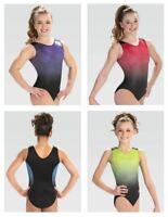 GK Elite V-Neck Gymnastics Leotard Child & Adult Sizes New With Tags