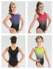 Gk Elite V-Neck Gymnastics Leotard Child & Adult Sizes New With Tags