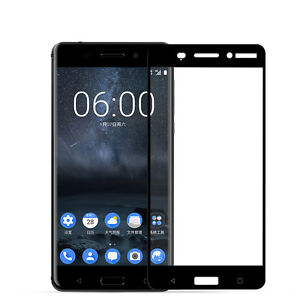 9H Full Cover Tempered glass Screen Protector Film For Nokia 6 phone