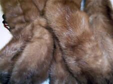 MINK WEASEL bolero/scarf/wrap  5 FULL PELTS  vintage