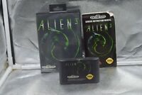 Vintage 1993 Alien 3 Sega Genesis Game Complete with Instructions and Case