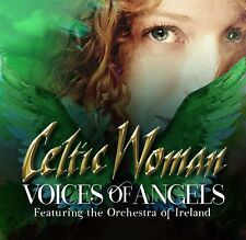 CELTIC WOMAN VOICES OF ANGELS UK Deluxe Limited Edition CD / DVD version 2017