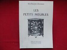 LES PETITS MEUBLES Guillaume Janneau - Charles Moreau - Ebenisterie