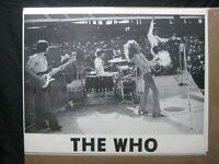 THE WHO BAND  ROCK VINTAGE POSTER GARAGE BAR CNG1535