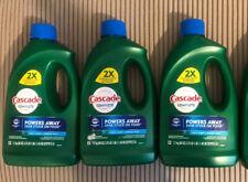 3 Cascade Complete Liquid Dishwasher Detergent Fresh Scent 60oz each With Dawn