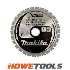 MAKITA B-10615 Circ saw blade 136mm x 20mm x 30T