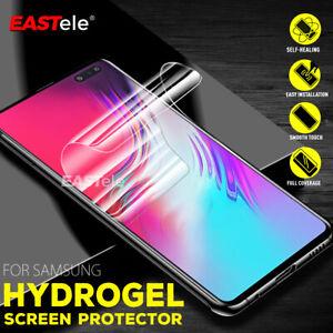Samsung Galaxy S10 5G S9 S8 Plus S10e Note 10+ 9 HYDROGEL AQUA Screen Protector