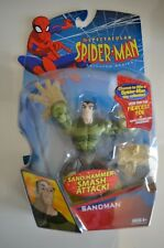 The Spectacular Spider-Man Sand Hammer Smash Attack Sandman