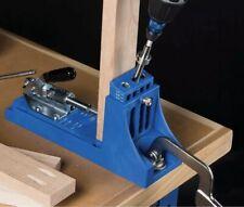 Pocket Hole Jig - Kreg K4 Pocket-Hole System Drill Screw Woodworking Tool Kit