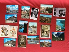 Lot of 18 Vintage Unmailed European Postcards Finland, Germany, Italy