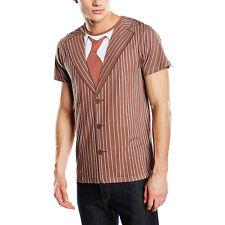 Doctor WHO David Tennant 10th Dottore Costume T-shirt taglia M