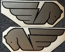Buell Pegasus Decals. Silver and Black. Or Choose Your Colors.