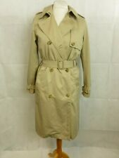 Gap Long Brown Trench Coat Size M rrp £84.95 CR093 FF 02