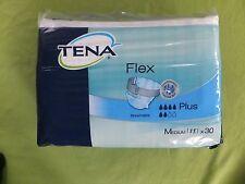 NUOVO SIGILLATO Pack 30 TENA FLEX PLUS-Uomini & Donne Medio regolabile pantaloni con cinturini