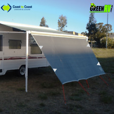 3.4m Coast Caravan Privacy Screen Sunscreen Sun Shade Wall 12' Roll Out Awning