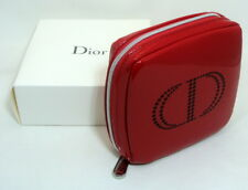 CHRISTIAN DIOR RED TROUSSE POUCH VANITY - GIFT SET