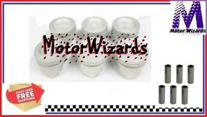 Ford 300 4.9 6 Cyl 1969-95 SPEED PRO Hyper H519P60 Dish Top Pistons 6-PACK .060