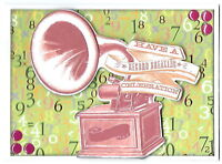 Handmade A2 size CONGRATULATIONS Greeting Card - RECORD BREAKING CELEBRATION