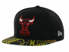 Chicago Bulls New Era 59FIFTY NBA Hardwood Classics Chains Cap Hat - Size: 7 3/8