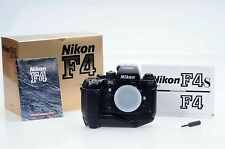 Nikon F4s SLR 35mm Film Camera Body MB21 Nikon DP-20 s/n:24X W/BOX
