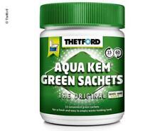 Thetford AQUA KEM GREEN Sachets 15x30g Beutel WC Sanitär Zusatz Camping
