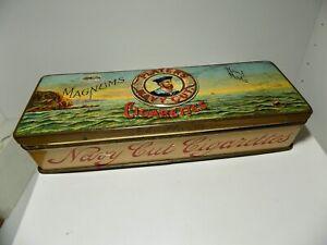Scarce Player's Magnum Handmade Navy Cut Cigarette Tin c1920s - Empty