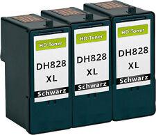 3x XXL TINTEN PATRONEN DH828 CH883 für Dell 966 968 A966 A968 DRUCKER PATRONEN