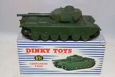 Dinky Toys 651 Centurion Tank very near mint in box all original condition