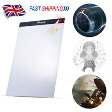 A4 LED Stencil Board Pad  Light Box Artist Tracing Drawing Plate Table Gift UK