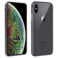 Back case + Screen Protector Tempered Glass Clear Apple iPhone XS Max