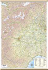 Carta GEOGRAFICA MURALE REGIONE PIEMONTE VALLE D'AOSTA 67 x 100 cm BELLETTI