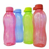 Set Of 4 Tupperware Water Bottles - 500 ML Each Leak Proof & Air Tight