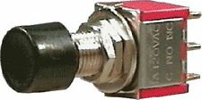 Pushbutton Switch - DPDT, Momentary, Solder Tail