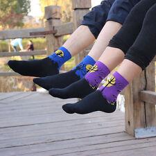 Women Girls Halloween Harajuku Style Couples Socks Autumn/Winter Cotton w/