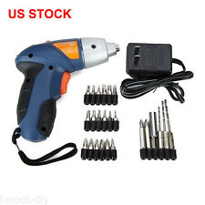 4.8V Mini Household Electric Drill Rechargeable Screwdriver Accesory Repair Tool